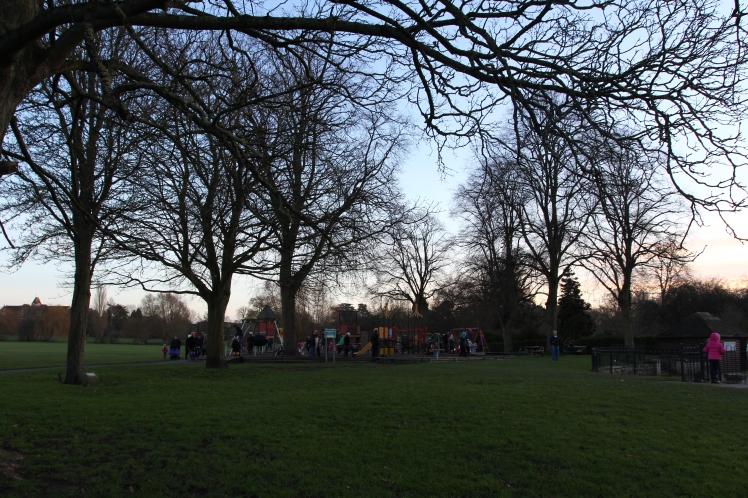 Parque Saint Nicholas Foto Arquivo pessoal