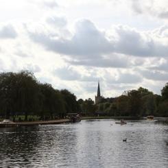 Rio Avon em Stratford upon Avon
