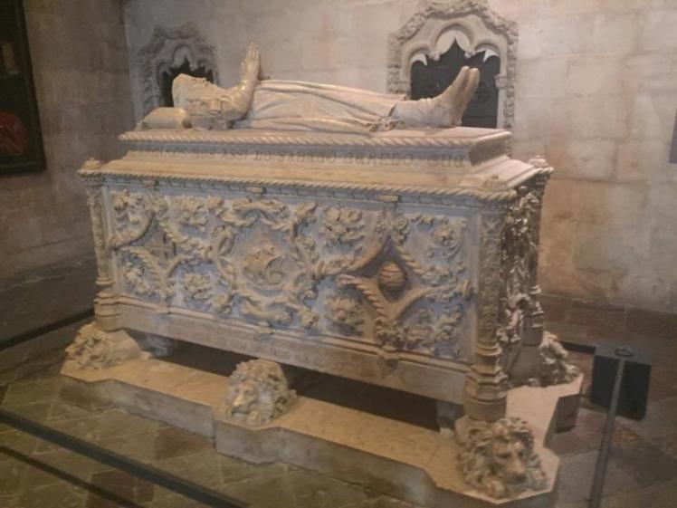O túmulo de Vasco da Gama