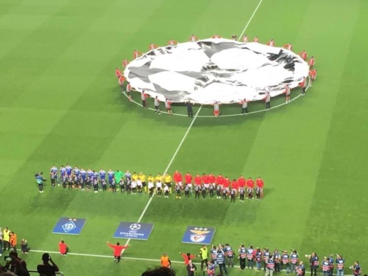 Jogo que assistimos. Benfica vs Dínamo de Kieve