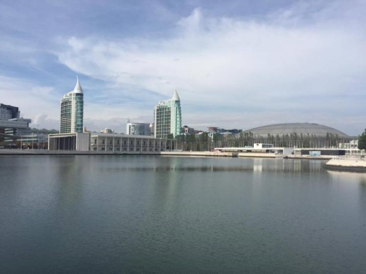 A parte nova de Lisboa