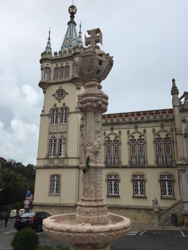 Centro de Sintra, ao chegar de trem